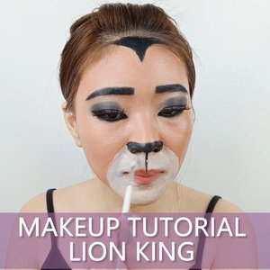 Oh yes, the past can hurt. But the way i see it you can either Run from it or Learn from it - Lion King- . . Inspired @promisetamang @lionking . . . . . . . . #luellaartistry #luellatutorial #lionkingmakeup #lionkingfacepaint #lionfacepaint #lionmakeup #cartoonmakeup #artsymakeup #makeuppemula #makeuptransformation #tutorialmakeup #beautyvlogger #beautybloggerindonesia #beautybloggerbandung #beautyvloggerbandung #bandungbeautyblogger #bandungbeautyvlogger #clozzetebeauty  #Clozetteid