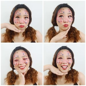 Dont be afraid to express yourself through Make up! #luellamakeup...#luellaartistry #cchannelfellas #colorfulmakeup #artsymakeup #clozetteid