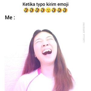 Ada yang suka typo juga gak klo kirim chat? Coba tag temen kalian si Raja Typo 😂😂 #luellajustforfun .Btw belum ada video makeup baru.. Post stok konten yg ada dlu aja ya... Lagi istirahatin kulit dlu nih dari breakout 🙈🙈 ...#luellaartistry #tiktokindonesia #memes #ClozetteID #cchannelfellas