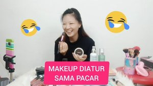[ MAKEUP DIATUR PACAR + GIVEAWAY TOTAL 1 JUTA ] Langsung cek Rules nya di Description box Youtube aku yah.. Good Luck! ❤❤ #GiveawayLuellaArtistry29 #dirumahaja....#luellaartistry #tiktokindonesia #cchannelfellas #ClozetteID #makeupchallenge
