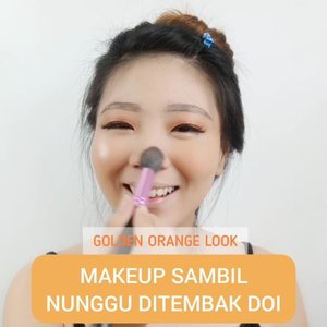 Golden Orange Look - Makeup an dulu ja yok sambil nunggu ditembak doi! Semoga kalian ga di PHP in yah! 🤭🤭 #luellatutorial..Product details@avoskinbeauty Mist@catrice.cosmetics Primer@getthelookid @lorealparis Sunscreen + Concealer@makeoverid Cushion@riveracosmetics Powder@jacquelle_official @vinnagracia Essential Pen@maybelline Eyeshadow + Highlighter@thesaemid Blush On@brunbrun_paris Lip Cream@blpbeauty Lashes..🎶 Panah Asmara cover by @eclatstoryofficial ...#luellaartistry #dailymakeup #glammakeup #koreanmakeup #cchannelfellas #ClozetteID #naturalmakeup