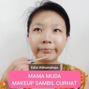 Daripada goyang mamah muda mendingan makeup sambil curhat aja yuk! Sound on ya 😝 #luellajustforfun ..🎶 by @tante_moji..#luellaartistry #tiktokindonesia #dirumahaja #tiktokmemes #tiktok #ClozetteID #cchannelfellas