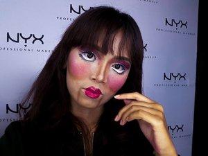 [mar·i·on·ette] . . . . . . . . . . . . . #bringouttheboo #proexclusivewithrenetjandra #NYXCosmeticsID #makeup #makeupvideos #makeupvideo #dailymakeup #makeuproutine #beautyguru #mua #makeupartist #tutorial #indobeautygram #tutorialmakeup #ivgbeauty #indbeauty #clozetteID #indobeautygram #tutorialmakeup #ivgbeauty #beautyvlogger #beautyenthusiast #indobeautyblogger #indobeautyvlogger #makeuptutorial #makeuplook #wakeupandmakeup #indovidgram #bunnyneedsmakeup @indobeautygram