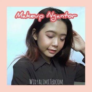 Makeup ngantor anti dinyinyirin senior 😂Pakai produk2 kece dari @qlcosmetic nih.. Mau review lebih lengkapnya? Minggu depan aku up di blog yaah 😉#bandungbeautyvlogger #1stgatheringbbv #clozetteID