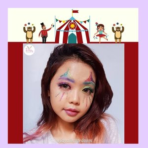"Life is a circus ring, with some moments more spectacular than others.THIS IS MY COLLABORATION WITH @ITSBEAUTYCOMMUNITY ""CIRCUS MAKEUP LOOK"" - larasgee_- ekaaprilianadewi- yindri661- ajeeengms- uswatunieq - beautyonmebydesimj- fidia.aristina_real- siskapariska- a_mo_y- selvyylt09- widyalimitedcom - kimzee98#itsbeautycommunity#IBC#itsbeautycommunitycollab#IBCollab#IBCCircusmakeup#circusmakeup #widlimselfie #clozetteid"