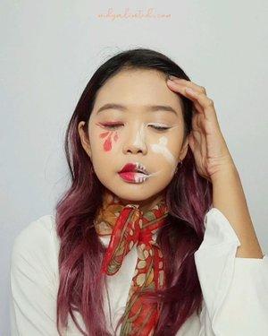 Jadi, judul lagu ini Kebyar atau Gebyar guys? Ada yg tau? 🙈Nyobain pertama kalinya makeup lipsync dan langsung yg ganti2 makeup, puyeng uga ternyata WKWK tp demi ikut merayakan Kemerdekaan Indonesia yg ke 75 , apa sih yg engga 🥰Soo gimana nih buat newbie? Udah lumayan blm transisinya? Wkwkwk yuk ikutan juga gengs @jiglyciouss @deemiiaa @vebbyfbrr_ 🇮🇩#independentmebebasberekspresi #thefaceshopindonesia #thefaceshopid #widlimselfie #widlimarts #clozetteID