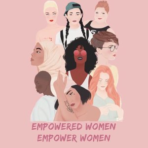 Shout out to all of the women out there who love themselves, in a world that teaches them not to 👸🏽👸🏼👸🏻👸🏿👸🏻👑 _____ Illustration: unknown  #empoweringwomen #empowerment #feminist #feminism #girls #girlsunited #blacklivesmatter #bopo #bodypositive #bodypositivity #clozetteid #supportwomen #diversity #diversitymatters #asianpride