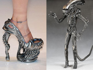 Wish List - Check out these awesome alien shoes :)