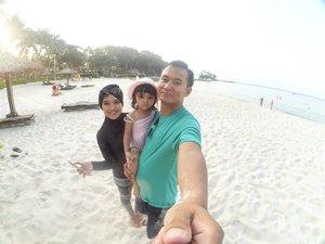All you need is a dose of vitamin sea. ⛅🌊🌅 #clubmed #bintan #bintanisland #ClozetteID #family #gopro #sea #beach #holiday #summer #hijab #burkini #instatravel #getaway #indonesia