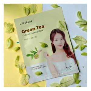 Awas...slide terakhir bikin klian terkejeot 😀.Mumpung wiken ginih ber me time ria adalah pilihan yang tepat menurutku, kalo aku sih tim rebahan sambil nonton drakor tapi jangan lupa juga untuk tetap merawat kulit, contohnya sih maskeran. Dan biar gak ribet, aku lebih milih pake sheet mask sih. Pilihanku jatuh ke Collagen Essence Mask Green Tea dari @celebon_koreaMasker ini punya kandungan Green Tea, Glicol, Vit E, Collagen, Aloe Vera dan lainnya berguna untuk menenangkan kulit, meredakan redness, melembabkan, menutrisi serta membuat wajah cerah & sehat. Lembaran maksernya cukup tebal sehingga tak mudah robek tapi tetap terasa ringan koq diwajah. Untuk ukurannya agak kedegeyan buat wajahku, khususnya bagian dagu.Essencenya sendiri cukup ringan, gak begitu lengket cuma rada lama sih buat meresap kekulit. Isinya essennya lumayan banyak jadi bisa dipake kebadan juga, oh iya masker ini ada wangi green teanya tp kalo buatku sih oke oke aja & segar aja gitu waktu diciumnya 😘Cara pakenya gampang sih bersihkan wajah terlebih dulu, trus tempelin maskernya ke wajah, tunggu 20 menitan & setelah dilepas jgn lupa pijat lembut sisa essence yg ada diwajah hingga meresap tanpa perlu dibilas. Seperti biasa sebelum digunakan ada baiknya simpan masker dikulkas biar lebih nampol pas diaplikasikan kewajah. Abis pake ini dijamin wajah terasa lebih rileks, seger, lemba tp minyak diwajah tetap terkontrol, lumayan bantu nenangin jerawat yg meradang & ada bikin lebih cerah sedikit. Dan menurutku ini cocok banget untuk jenis kulit berminyak & acne proneku.Kalo kalian udah pake masker gak hari ini? 😉..#Celebon#SheetMask#FaceMask#Skincare#Kbeauty#Kskincare#GreenTeaMask#CollagenMask#MeTime#Weekend#ReviewTime#KotaDumai#DumaiHits#AnakDumai#Clozetteid.#마스�#마스�팩#스킨케어#콜��마스�#�스타뷰티#뷰티블로거#마스�시트#마스�팩추천##화장품