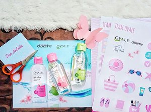 Can you spot the cute things in picture No. 1 ?Can you guess what we do?Yes! We make a pop-up card with @clozetteid, @ovalebeautyid and @absolute_women. Wanna know the final result? Slide to see mine ➡�#OvalexClozetteID #AbsolutexClozetteID #MomentOfRefresh #LetsGoMicellar #GetReadyWithOvale #MicellarWater #AbsolutelyActive #clozetteid