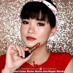 10 Warna Best seller @lorealindonesia Color Riche Matte.Mana yang kalian suka? 😁Review lengkapnya sudah ada diyoutubeku lho 😊..Oh ya jangan lupa ikutan giveaway di youtubeku juga ya😉 https://youtu.be/vDp56Qxmx58.#ClozetteID #StarClozetter #lorealcolorrichematte #LOREALPARISID #mattelipstick #matteaddiction #lipstickmatte #loreallipstick #Beautyinfluencer #gengbvlog #tampilcantik #wakeupandmakeup #bunnyneedsmakeup #beautiesquad #indobeautygram #indobeautysquad