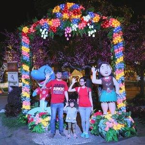 Malang Night Paradise #familytrip #clozetteid #familyfoto #malang #liburan #wisatamalang #malanghits