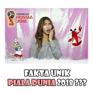 WOW! TERNYATA... Buat kalian yang ngikutin maupun ga ngikutin piala dunia, wajib banget tau ini! Klik linknya di bio ya! 💕 . #youtube #youtuber #youtuberindonesia #pialadunia2018 #worldcup2018 #clozetteID #entertainment