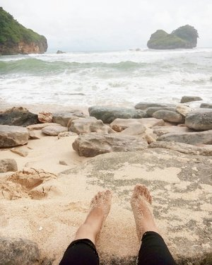 So, how's your holiday?  #vacation #beach #pantaiguachina #pantaigoachina #holiday #malangtrip #ClozetteID