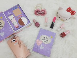 Hii beautiess this is #MyBeautyEssentials 🌸💄My true morning saviors 🌼I used @pixycosmetics _🌸 A cup of milk 🍵🌸 BB Cream Pixy Bright Fit🌸 Two Way Cake #PIXYCOVERSMOOTH 🌸 Pixy Highlight and Shading 🌸 Liquid Eyeliner #Black🌸 Pixy Nail Enamel #Pink #Red #Natural _#ClozetteID #ochieepiggiereview