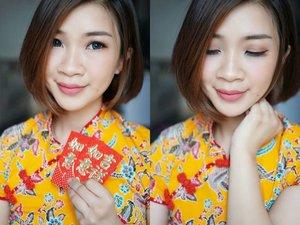 Ga berasa besok udah imlekan.. Momen paling happy itu ketika bisa kumpul bersama keluarga, dan kali ini aku buat makeup tutorial buat imlek dengan produk lokal loch.. Mampir ya ke youtube aku https://youtu.be/6MH70i04lCE  #shantyhuang #beauty #beautyvlogger #beautyblogger #blogger #makeupimlek #chinesenewyear #chinesenewyearmakeup #imlek #Clozetteid #clozettedaily #instagood #instadaily