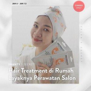 Siapa yang kangen hair treatment di salon?  ini dia rahasia rambut aku tetap halus lembut, ga rusak dan tetap sehat walaupun sering di warnain dan catokan.  Cara pakenya juga praktis banget, hasilnya rambut dijamin halus lembut dan wangi seperti abis treatment di salon  lagi ada promo loh di charis shop aku,link ada di bio atau   https://hicharis.net/Shantyhuang/1u3v   #charisceleb #charis #shantyhuang #beauty #makeup #selfie #beautyblogger #beautybloggerindonesia #beautyandhairdiaries #tampilcantik #love #koreanmakeup #jakartabeautyblogger #clozettedaily #clozetteid