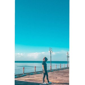 Laut 😍😍 #Shantyhuang #ootd #beauty #seaview #Clozetteid #Clozettedaily #instagood #instadaily