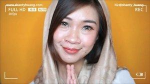 #shantyhuang mengucapkan  Selamat Hari Raya Idul Fitri Mohon maaf lahir dan batin🙏🙏🙏 #beauty #beautyvlogger #clozetteid #clozettedaily #clozetteid #instadaily