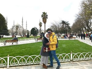 """""""And if Allah wills it to be, then He will reunite two lost souls at the right time. For the right reason until then, sabr is the perfect cure. For the longing of the lonely soul"""".Alhamdulillah we meet again in my dream dear, you know how much i miss you.I love you, my dear husband 😘.#love #couple #lovequotes #relationshipquotes #couplegoals #relationshipgoals #istanbul #happyholidays #bloggerstyle #bloggerperempuan #hijabfashion #muslimtravelers #clozetteid"""
