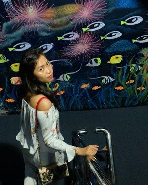 Please create a caption for this . . . #Traverra #SeaWorld #vacation #holiday #jakarta #Indonesia #ClozetteID