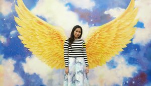 Take me high and fly with me.. . . . #Traverra #MuseumAlive #Ancol #ClozetteID