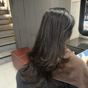 New hair 😍😍😍 #ClozetteID #ClozetteIDReview #IrwanTeamxClozetteIDReview #IrwanTeamReview #SelfieColor #LorealProID