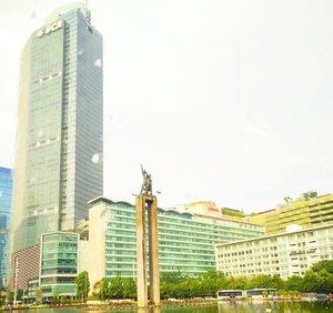 City 🌆🌇 . . . . #cityscape #jakarta #indonesia #Landmark #clozetteID