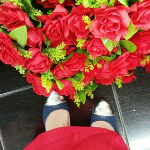 match❤✨ #shoes #rose #redrose #flower