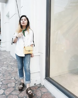 Being well dressed is my kind of theraphy. ~ New post is live on the blog! . . . . #LYKEAmbassador #clozetteid #clozette #fashion #personalstyle #styleblogger #fashionblogger #ootd #cgstreetstyle #ggrepstyle #PrettyMessedUpStyle #lookbookindonesia #ootdindo