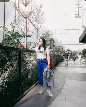 I feel like I'm at my lowest point in life. But my outfit should always be perfect. . . . #LYKEAmbassador #clozetteid #personalstyle #styleblogger #ootd #cgstreetstyle #streetstyle #ggrepstyle #PrettyMessedUpStyle #lookbookindonesia #ootdindo