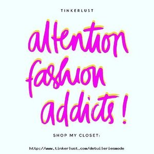 Selling some of my #preloved items in here! Go check it out 💕👀💕 #tinkerlustid #detuileriesmode #clozetteid #blogger
