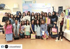 #Repost @clozetteid with @repostapp ・・・ Thankyou ladies for coming on @gaudi_clothing playdate @eminacosmetics ! See you on the next event. Stay tuned! #clozetteid #gaudiplaydate #emina #eminacosmetics #eminaplayground