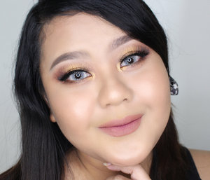 Who's coming to #jakartaxbeauty2018? Let's meet up! I just filmed new video first impression trying the newly launched @lagirlindonesia pro matte foundation. And this is my look going to jktxbeauty. #lagirlpromattefoundation #clozetteid #IVGbeauty