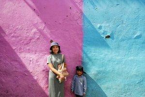 Selamat pagi dari Kampung Warna Warni..📷 Pap @fachreza ..#Hello #Malang #exploremalang #lumixphotography #ClozetteID