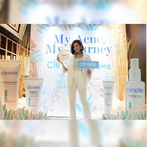 I'm so happy that I can join the launch of newest skincare series from @clinelleid yaitu Purifying Series yg ditargetkan untuk mengatasi oily dan blemish prone skin. Purifying Series ini terdiri dari Purifying Cleanser, Purifying Toner, Purifying Gel Moisturizer, dan Blemish Clear. I will let you know further on about this series of skincare.  @clozetteid #myacnemyjourney #withClinellePurifying #ClinelleXClozetteID #ClozetteID . . . . . #igers#instalike#instapic#instagood#instagram#style#photooftheday#picoftheday#beautiful#beauty#bestoftheday#makeupinspiration #indobeautygram  #beautybloggerid  #ragamkecantikan #makeupindo  #inspirasicantikmu #tampilcantik #undiscovered_muas #makeupfanatic #makeupartistworldwide #bestoftoday#style#makeupjunkie