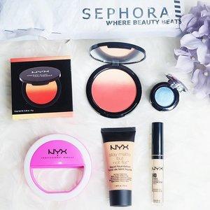 NYX Professional Makeup haul from @sephoraidn 💙 go visit www.beautyveller.com for full review💙 #BeautyVeller #clozetteID . . . #ivgbeauty #makeupporn #motd #beautyaddict #makeuptutorial #beautyenthusiast #makeupjuunkie #beautyvlogger #wakeupandmakeup #undiscovered_muas #glamvids #instamakeup #makeuplover #beautyjunkie #pinterest #instastyle #ulzzang #styleinspo #styleblogger