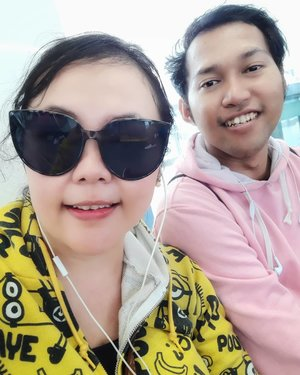 Love your family. Spend time, be kind & serve one another. Make no room for regrets. Tomorrow is not promised & today is short  With lit. Bro.. Edisi norak nyobain MRT #mrtjakarta . . . . .  #brother #sister #sibling #family #brothersister #familyportrait #travelerblogger #womanlifestyle #womantraveler #ritystory  #travelerlife #mytravelgram #instaphotoshoot #womanentrepreneur #photooftheday #picsoftheday #travelgram #clozetteid #qualitytime