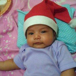 Little santa . . .  #santa #christmas #baby #babyboy #babysean #cutebaby #smile #sleepingbeauty #ritystory #womanblogger #clozetteid #travelerlife #mynephew #nephew #babyphotography #photooftheday #like4like #followforlike #babys #babiesofinstagram
