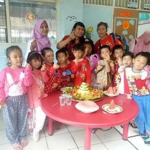 Ketika Yadika seluruh Indonesia merayakan hari jadinya yang ke 44th ..TK Yadika 1 Tegal Alur ini juga ikut berpartisipasi......#clozetteid #anaktk #bocil #lomba #hut #throwback #happykids