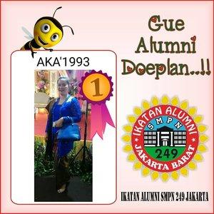 Ikatan Alumni...Putih Biru angkatan th 93 SMPN 249 Jakarta #alumni #duplan #doeplan #ikatanalumni249 #clozetteid #throwback #borsin #sinaga
