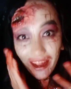"""TRIGGER WARNING"" ""Makeup Horror"" . Semua murni make up ya guys , luka dan darah itu hasil kreativitas . :) . . #makeuphorror #beautybloggerindonesia  @indobeautyblogger @indobeautygram @indobeautysquad @wowsyantik @tampilcantik @meriaswajah @zonamakeupinstyle @wakeupandmakeup @makeuptutorialindo @1minutemakeup @buat.cantik @ragam_cantik @ragam_kecantikan @cchannel_id @zonacantikwanita @cchannel_beauty_id @tutorialmakeup_id @tips__kecantikan @tipsmakeup_id #cchannelbeautyid #cchannelfellas #tampilcantik #makeuptutorialindo #wowsyantik #meriaswajah #buatcantik #indobeautygram #indobeautyvlogger #indobeautyvlogger #clozetteid #clozette"