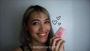 Selamat hari Kartini! BTW siapa disini yang malas cuci make up brush??? . . 🙋🏽♀️ akuuu! 🤣 . . Akhir2 ini aslii banyak gak sempetnya.. Makanya kalau harus make up maunya yg cepet aja deh. Mulai switch bbrp essential #makeup product ke yg model krim, aplikasiinnya tgl pake jari.. trs sejak 1 tahun belakangan ini suka banget sama blush on yg teksturnya cream/mousse krn hasilnya jd natural bangettt.. . Pas liat2 @hicharis_official kok mataku naksir sama blush on model stick yg packagingnya super gemasss dari @easypeasy_cosmetics 😍 Pilihan warnanya ada 7 mulai dr muda sampai bold, dari pinky2 yg cucok buat cool skin tone sampai brownie2 buat warm skin tone. Aku pilih merah donk (sweet red pepper) krn setelah bolak balik cobain 50 shades of peach ternyata yg paling keliatan natural di aku tuh merah ❤ . . Pas dateng yaampunn emang segemas itu ya.. isinya jg lumayan banyak dan pakenya as simple as 1 2 3. Tgl di dab2/swipe, trs blend pakai tangan atau sponge (aku pakai tangan), hasilnya natural bangettttttt.. gak mungkin jatohnya tll medok, tp tetap bs di build up. To make it short this is what I like and dislike about this #blusher stick: . . Pros: +Available in 7 different shades +Supah cute and travel friendly packaging +Easy to use +Buildable +Super easy to blend +Looks natural, can never goes wrong +Matte finish +Affordable . Cons: -Nothing comes into mind so far . . Kalo temen2 yg juga mau tetep keliatan fresh tanpa ribet, cobain deh #easypeasy #Coloring Stick, mumpung lagi diskon 40rban kalau belinya lewat link @charis_celeb https://hicharis.net/wennykyuuto/M2h (or simply click the #linkinbio) . . . #CHARIS #hicharis #charisceleb #ClozetteID #clozetteambassador #makeupaddict #makeupjunkie #beautyclip #makeupreview #makeupclip #minireview #kbeauty #koreanmakeup #koreanbeauty #kbeauty #bblogger #bvlogger #beautyblogger #makeupvideo #beautyaddict #beautygram #makeupmafia #beautycommunity