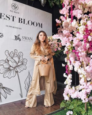 "About last Sunday! Attended the previewing of @surin.id's Fairest Bloom Collection along with the first collection of @surin.shoes at @votejakarta; ""When feminine meets empress"" 🌸🎎 Collections are out now! Feel free to check them out 😍—#PriStyleDiaries📸 @steviiewong........#whatiwore #portrait #womensfashion #fashionistas #parisian #elegant #chic #floral #dreamy #feminine  #parisienne #parisianstyle #travelblogger #lotd #bloggerstyle #fashion #styleinspo #instastyle #blogger #styleblogger #stylist #fashionblogger #influencer #ootd #fashioninfluencer #style #outfit #clozetteid"
