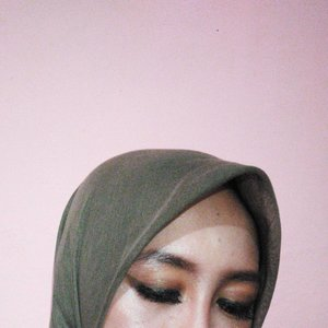..Brown.. #onecolor makeup for my eye  #onecolormakeup #clozetteid #beauty