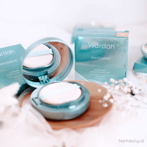 Must Have Cushion : Wardah Exclusive Flawless Cover Cushion - Tephie's Daily Life