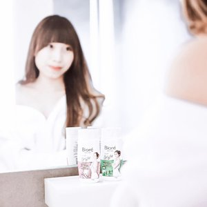 Glow-Better (noun) -A driven individual who strivesto achieve her goals whileattaining a beautiful glow bothInside and out ☘️-A new Biore Bright series from @id.biore 😍Comes with soft white pearl gel, rich foam and 3 scents (Sakura, Matcha, Scrub). This body bath, will give you a silky skin, bright skin fresh sensation.Honestly,I always use @id.biore series since 10years ago and that time I like the Sakura scent....#BiorexClozetteID#KireiBrightSkin#CerahKenyalBercahaya#ClozetteID