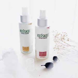 Keiske Hair Care — Made from 100% Ashitaba extract 😍 . If you never heard about ashitaba, ashitaba is a herbal leaf which has a lot of benefits ! The best product from @keiskeiindonesia is KEISKE HAIR TONIC 🤩 It will help you to grow a new hair. Bye bye hair fall problem 👌🏻 . Keiskei has 3 products : Hair Tonic Shampoo Hair perfume conditioner . Mini review? Check on my previous post 🌻 . . #Penumbuhrambut #Keiskeii #Haircare #Perawatanrambut #Beauty #Kecantikan #Kesehatan #SBBxKeiskeiiIndonesia . . . #clozetteid  #potd  #flatlay  #keiskei  #keiskeiindonesia  #review  #blogger  #bloggerindo  #뷰티블로거 #대한민국 #서울 #제주 #유행 #라이프스타일 #구성하다