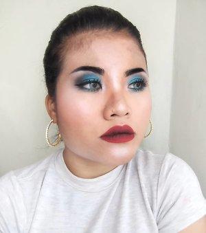 . Pake produk-produk dari QL Cosmetics. . . Sehappy itu karena produknya bagus-bagus banget. Apalagi eyeshadownya. My favorite!!!! . . Tencu @bandungbeautyvlogger  @qlcosmetic . #bandungbeautyvlogger  #1stgatheringbbv  #clozetteid #beauty #motd #makeup